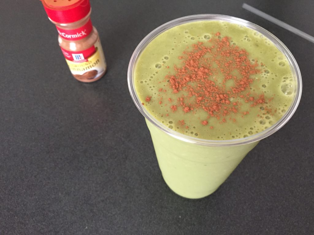 almond milk horchata and green tea smoothie recipe