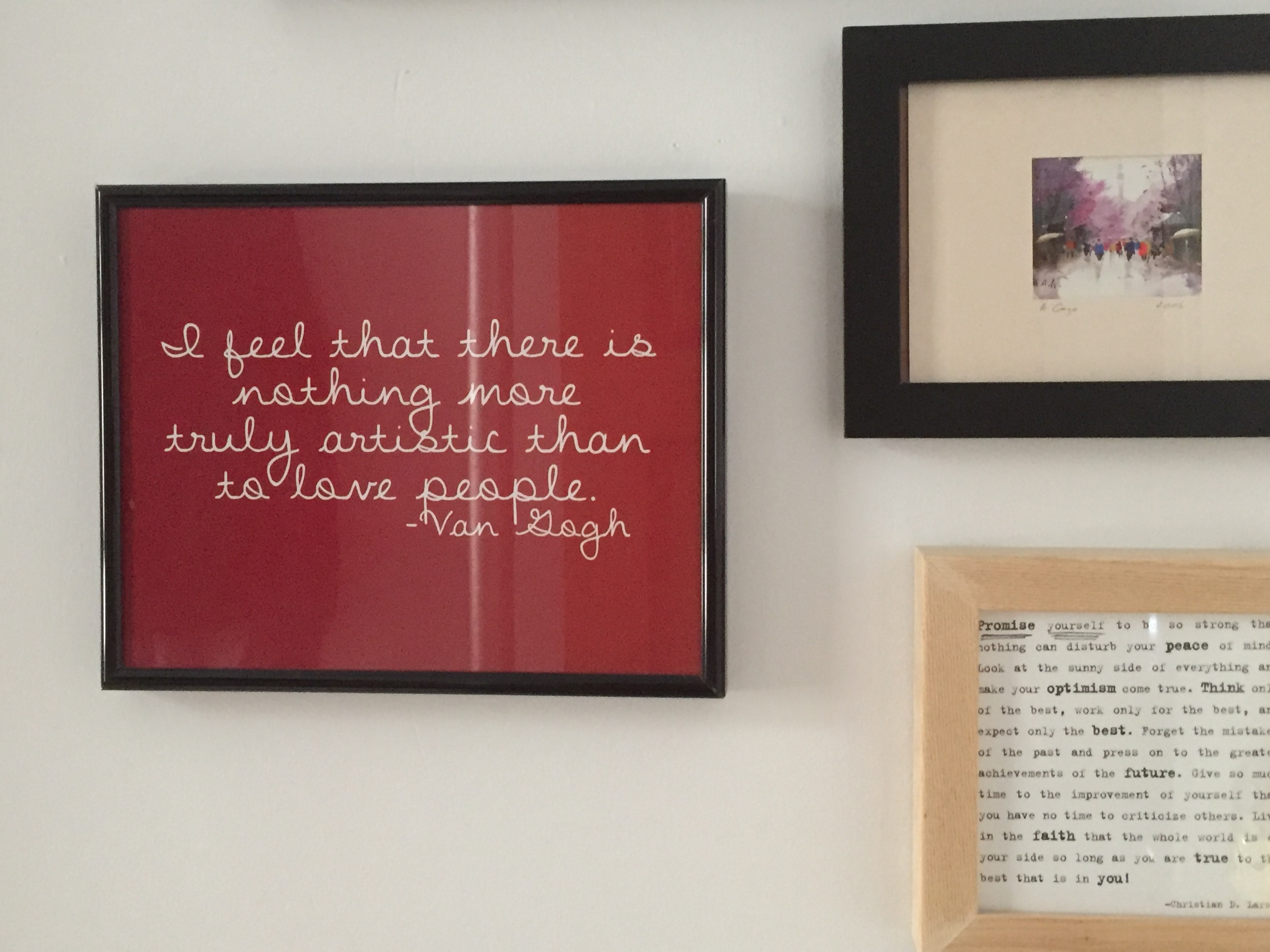 pictures on the wall quotes