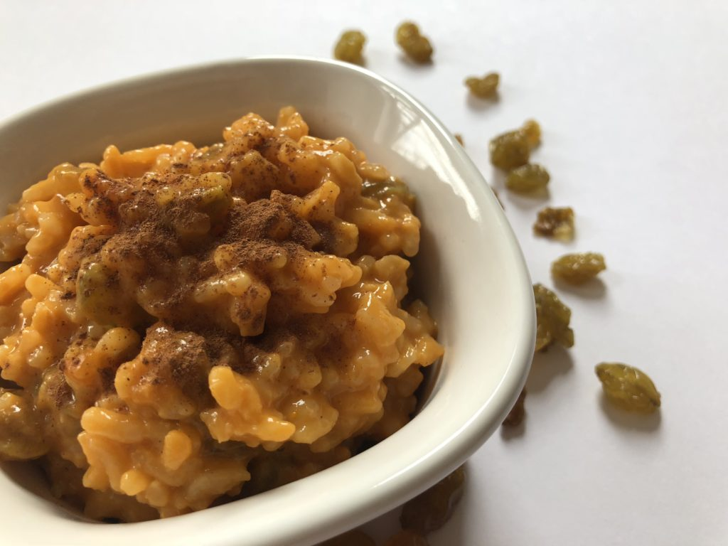 carrot cake rice pudding recipe