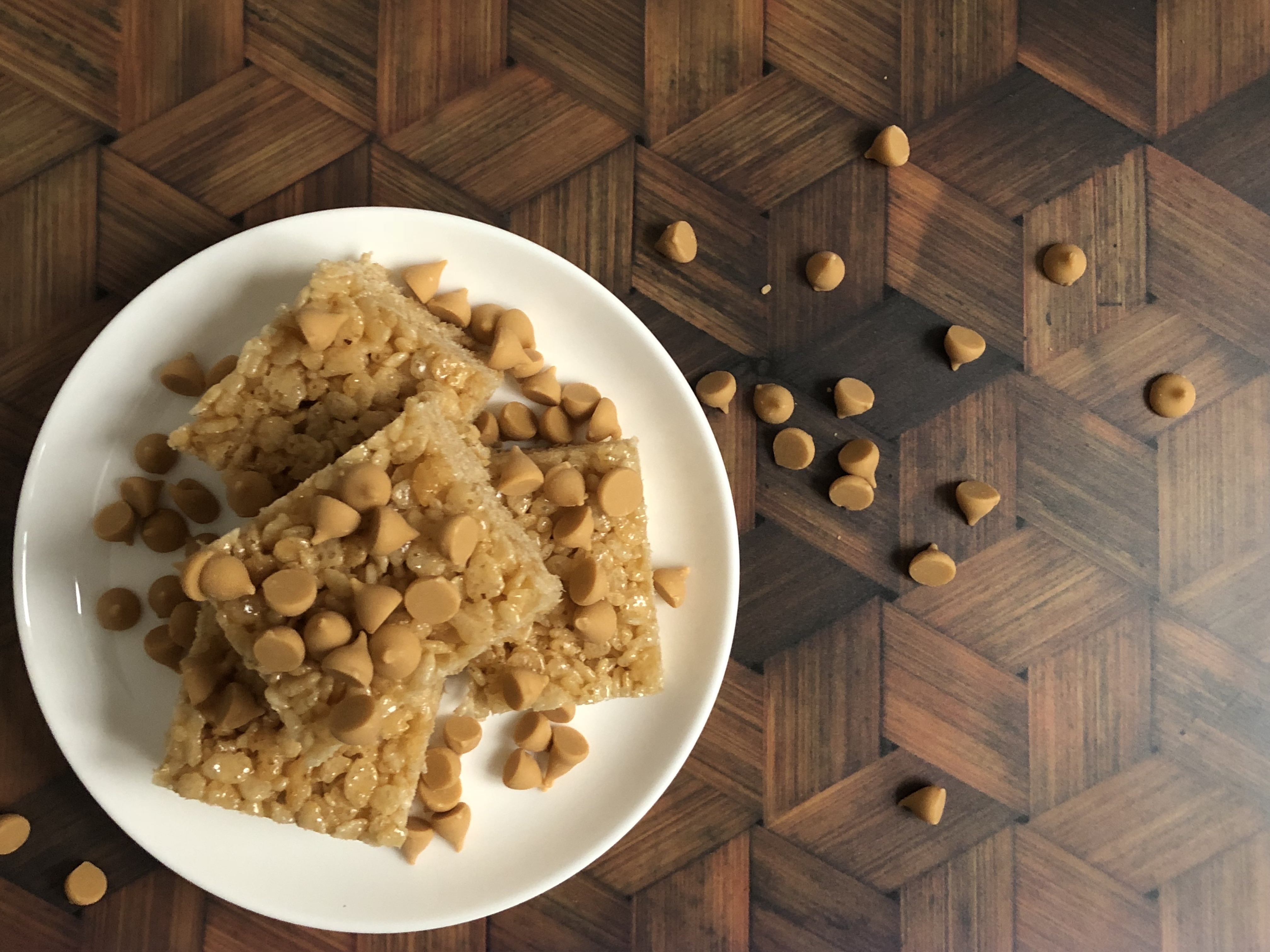 butterscotch hennessy rice kripie treat treats recipe