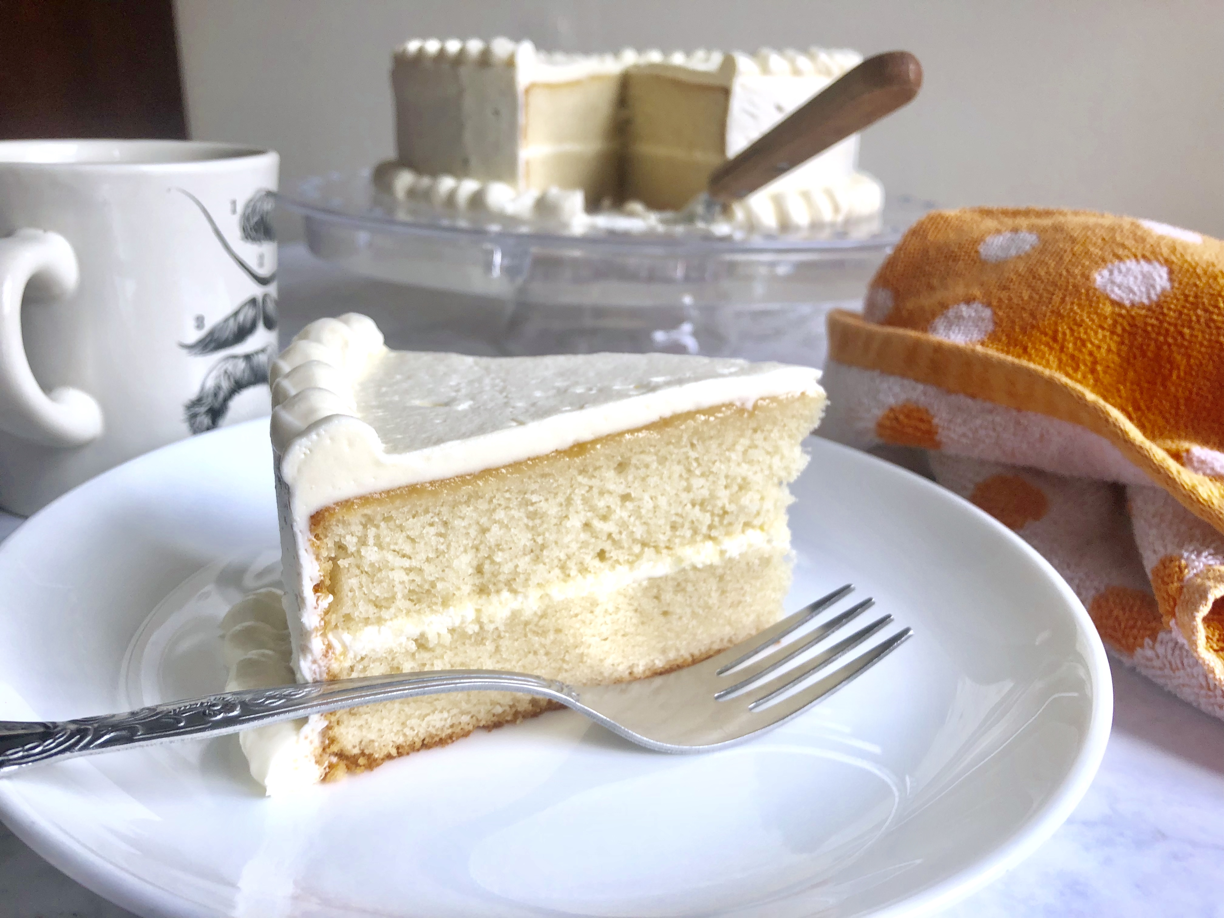 best recipe for white cake and vanilla frosting