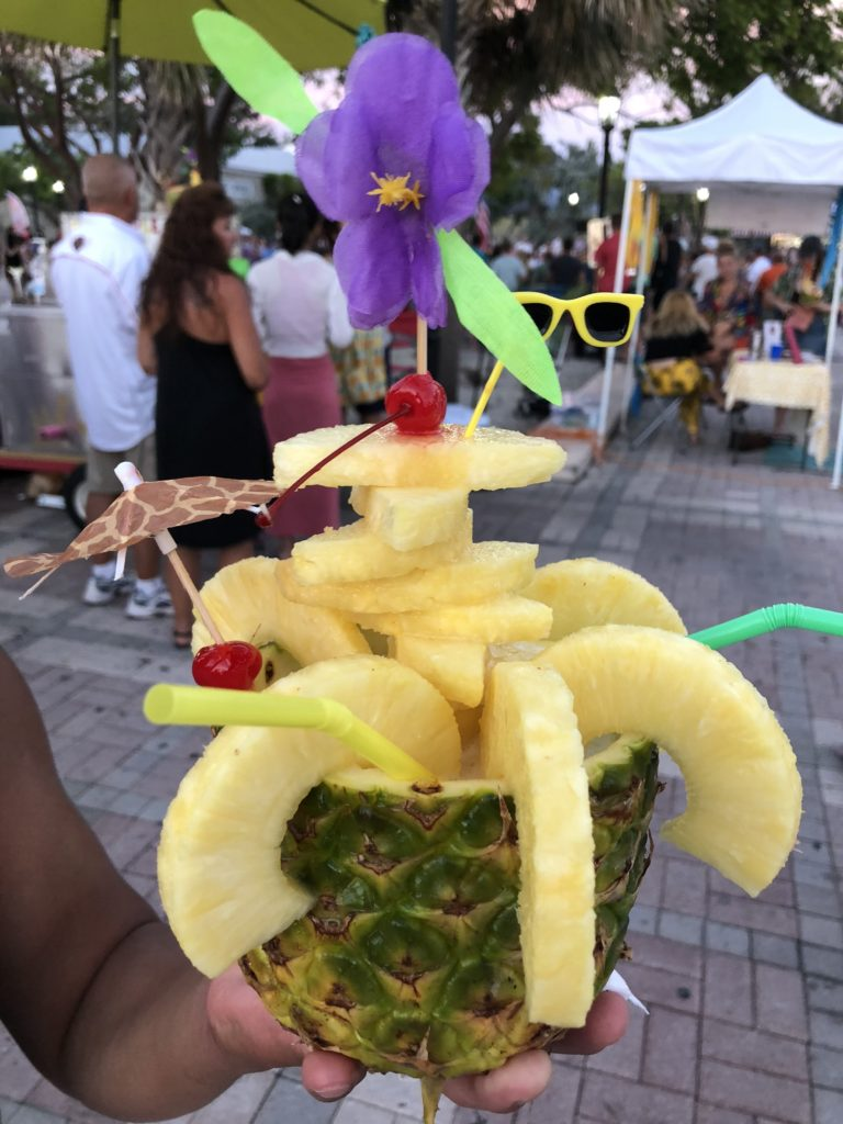 pineapple cocktail key west florida