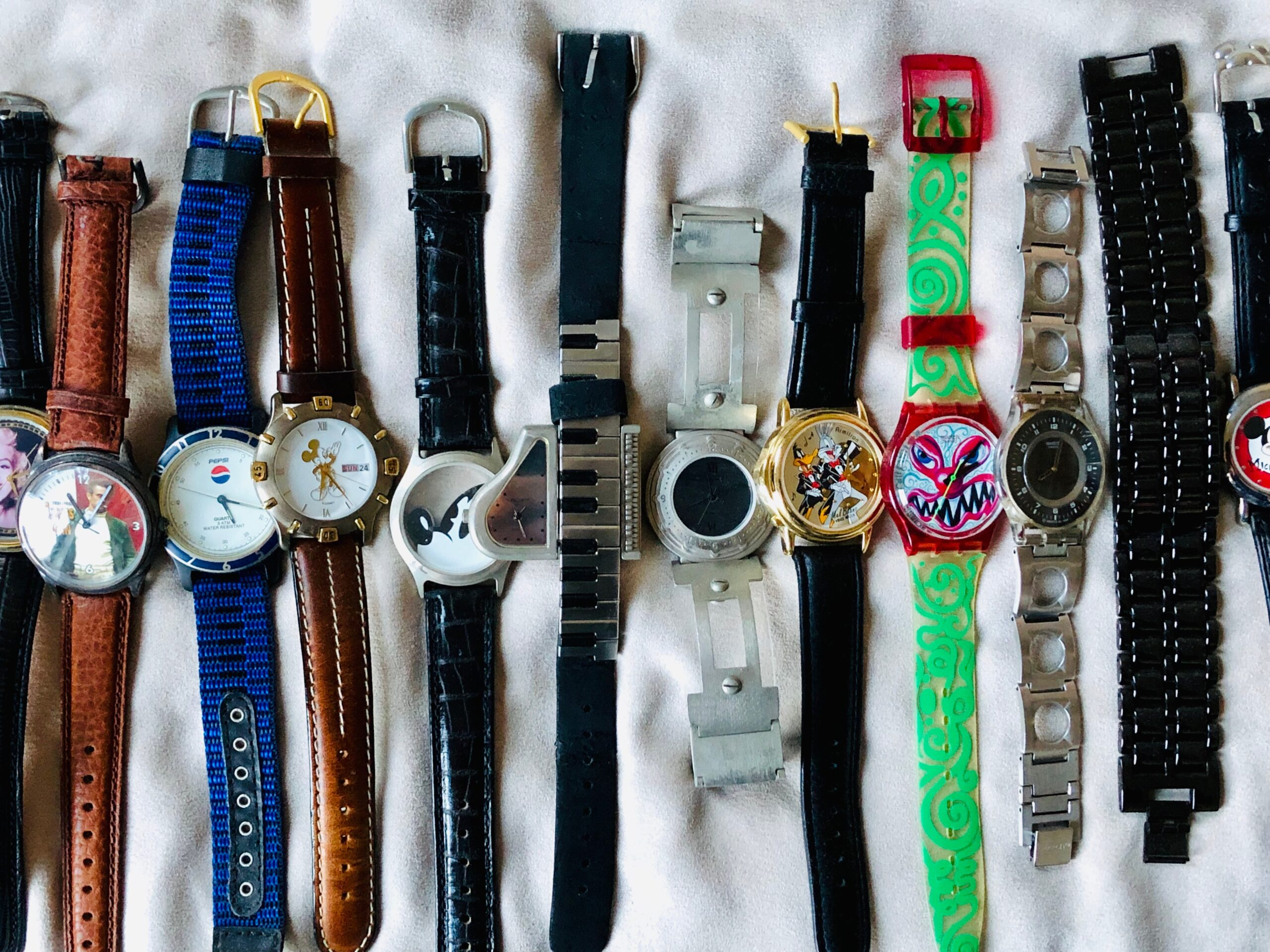 swatch watch collection