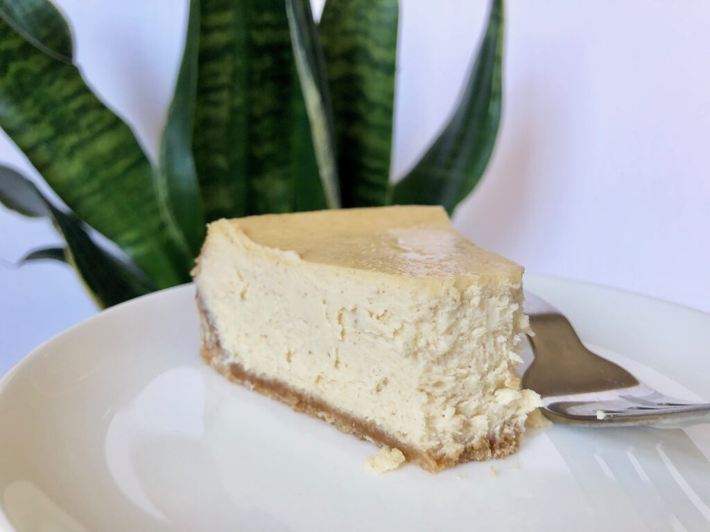 brown butter rum cheesecake